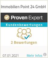 Erfahrungen & Bewertungen zu Immobilien Point 24 GmbH anzeigen