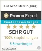 Erfahrungen & Bewertungen zu GM Gebäudereinigung