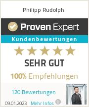 Erfahrungen & Bewertungen zu Philipp Rudolph