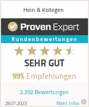 Erfahrungen & Bewertungen zu Hein & Kollegen