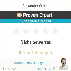 Erfahrungen & Bewertungen zu Alexander Groth
