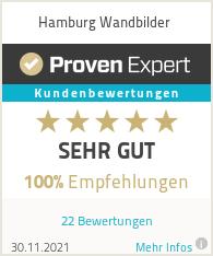 Erfahrungen & Bewertungen zu Hamburg Wandbilder