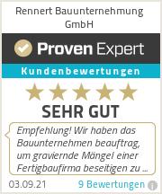 Erfahrungen & Bewertungen zu Rennert Bauunternehmung GmbH