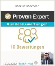 Erfahrungen & Bewertungen zu Merlin Mechler