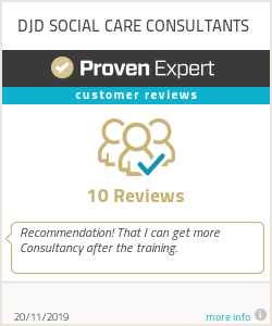 Ratings & reviews for DJD SOCIAL CARE CONSULTANTS