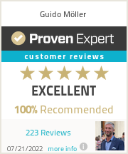 Ratings & reviews for Guido Möller