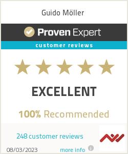 Ratings & reviews for Guido Möller