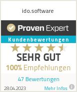 Erfahrungen & Bewertungen zu ido.software