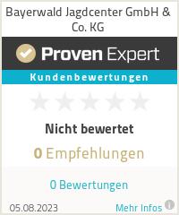 Erfahrungen & Bewertungen zu Bayerwald Jagdcenter GmbH & Co. KG