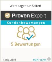 Erfahrungen & Bewertungen zu Werbeagentur Seifert
