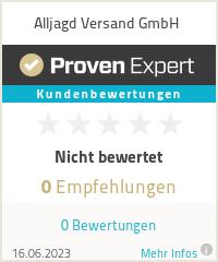 Erfahrungen & Bewertungen zu Alljagd Versand GmbH