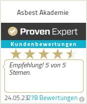 Erfahrungen & Bewertungen zu Asbest Akademie