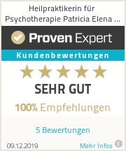Erfahrungen & Bewertungen zu Heilpraktikerin für Psychotherapie Patricia Elena Koob