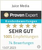 Erfahrungen & Bewertungen zu Juice Media
