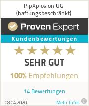 Erfahrungen & Bewertungen zu PipXplosion UG (haftungsbeschränkt)