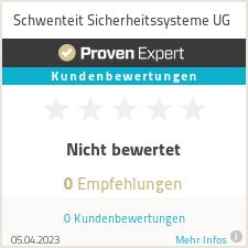 Erfahrungen & Bewertungen zu Schwenteit Sicherheitssysteme UG