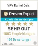 Erfahrungen & Bewertungen zu VPV Daniel Deis