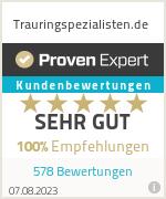 Erfahrungen & Bewertungen zu Trauringspezialisten.de