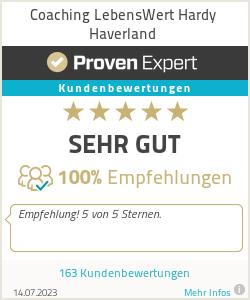 Erfahrungen & Bewertungen zu Coaching LebensWert Hardy Haverland