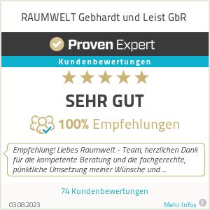 Erfahrungen & Bewertungen zu RAUMWELT Gebhardt und Leist GbR