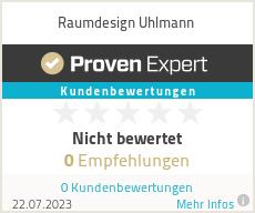 Erfahrungen & Bewertungen zu Raumdesign Uhlmann