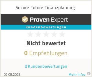 Erfahrungen & Bewertungen zu Secure Future Finanzplanung