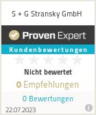 Erfahrungen & Bewertungen zu S + G Stransky GmbH