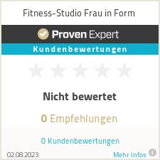 Erfahrungen & Bewertungen zu Fitness-Studio Frau in Form