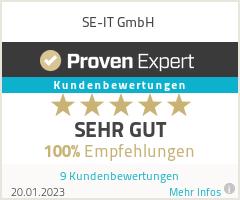 Erfahrungen & Bewertungen zu SE-IT GmbH