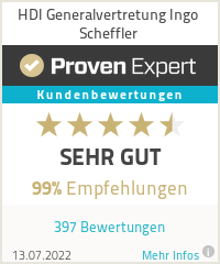 Erfahrungen & Bewertungen zu HDI Generalvertretung Ingo Scheffler