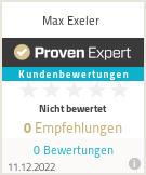 Erfahrungen & Bewertungen zu Max Exeler