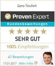 Erfahrungen & Bewertungen zu Gero Teufert