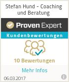 Erfahrungen & Bewertungen zu Stefan Hund - Coaching und Beratung