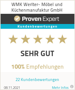 Erfahrungen & Bewertungen zu WMK Werlter- Möbel und Küchenmanufaktur GmbH