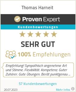 Erfahrungen & Bewertungen zu Thomas Harneit