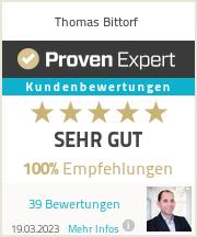 Erfahrungen & Bewertungen zu Thomas Bittorf