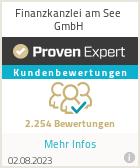 Erfahrungen & Bewertungen zu Finanzkanzlei am See GmbH