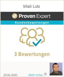 Erfahrungen & Bewertungen zu Vitali Lutz