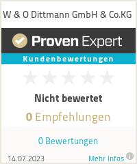 Erfahrungen & Bewertungen zu W & O Dittmann GmbH & Co.KG