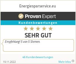 Erfahrungen & Bewertungen zu Energiesparservice.eu