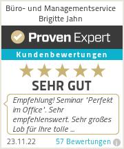 Erfahrungen & Bewertungen zu Büro- und Managementservice Brigitte Jahn