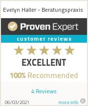Ratings & reviews for Evelyn Haller - Beratungspraxis