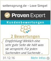 Erfahrungen & Bewertungen zu seitensprung.de - Love Simpel