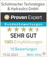 Erfahrungen & Bewertungen zu Schuhmacher Technologies & Hydraulics GmbH