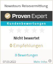 Erfahrungen & Bewertungen zu Nowotours Reisevermittlung