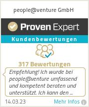 Erfahrungen & Bewertungen zu people@venture GmbH