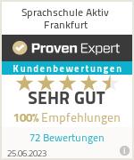 Erfahrungen & Bewertungen zu Sprachschule Aktiv Frankfurt