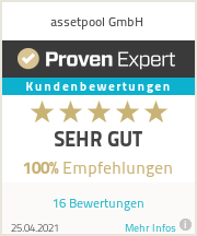 Erfahrungen & Bewertungen zu assetpool GmbH