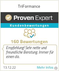 Erfahrungen & Bewertungen zu TriFormance