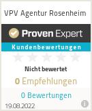 Erfahrungen & Bewertungen zu VPV Agentur Rosenheim